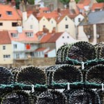 stack of lobster pots