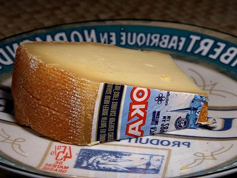 Wedge of Oka Cheese, from Canada