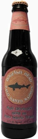 Dogfish Head Pallo Santo Marron barrel-aged beer