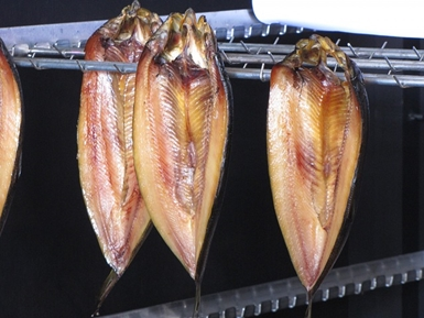 Smoked herring fish