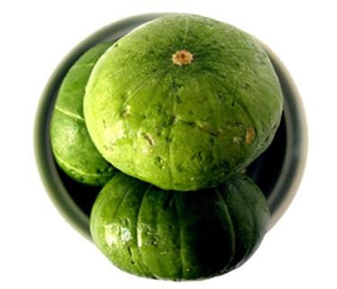 round zuchinni fruit