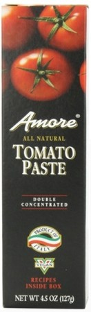 Amore double concentrated tomato paste