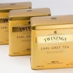 Twinnings Early Grey tea cannisters