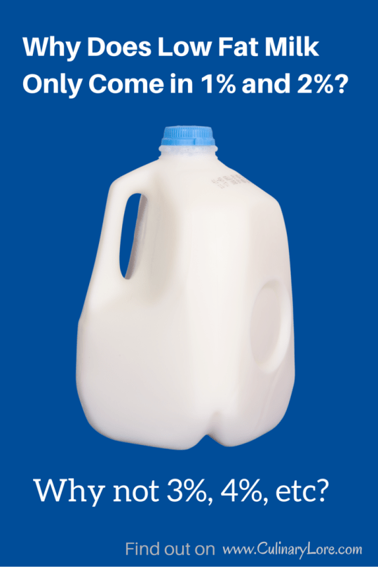 Why Does Low Fat Milk Only Come In 1 And 2 Why Not 3, 4, Etc  Culinarylorecom-7123