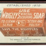 vintage wrigley's soap ad