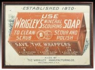 vintage wrigley's soap ad