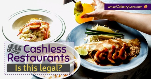 are cashless restaurants legal