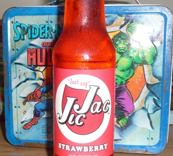 Strawberry Jic Jac Soda