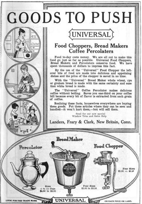 Vintage appliance ad, 1898