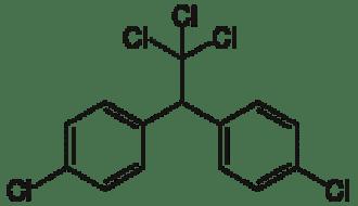 DDT Structural Formula
