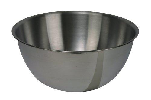 Large metal mixing bowl for kitchen