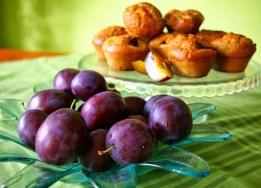 muffinki ze śliwkami