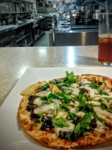 Fig and Fontina Flatbread