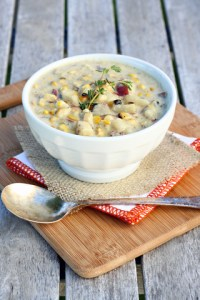 Florida Sweet Corn & Chorizo Chowder
