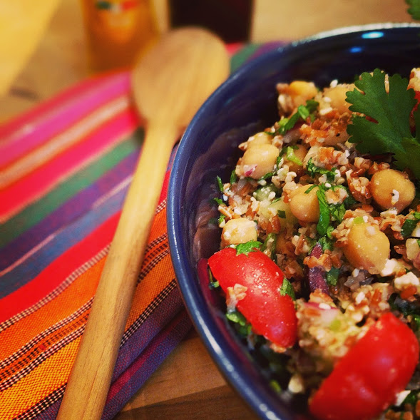 Mediterranean Bulgur Wheat Salad