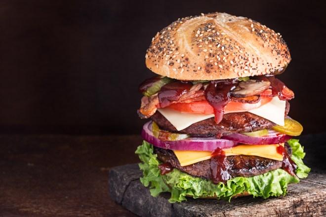 Barbecue Sauce Burger