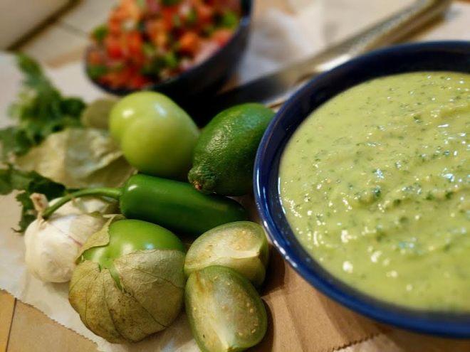 Tomatillo-Avocado Salsa