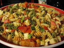 Pasta with Sun-Dried Tomato Salad Recipe