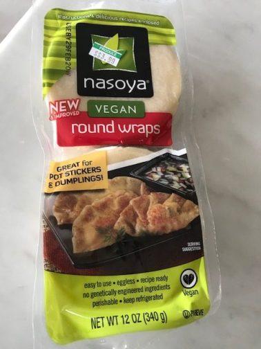 Nasoya Vegan Round Wraps