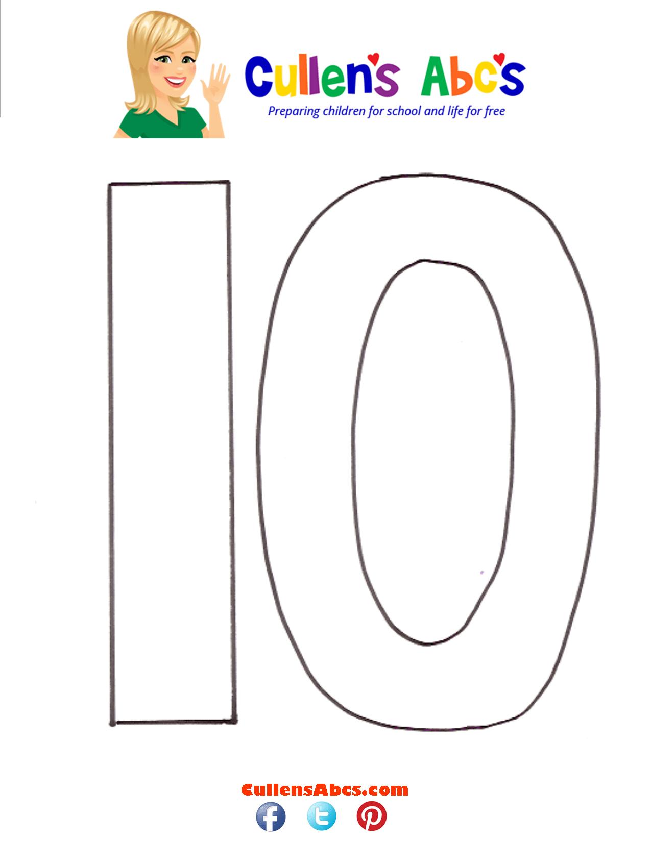 Number Ten 10