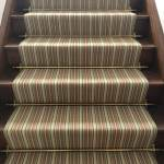 Domestic Staircase With Antique Brass Stair Rods Cullingford Carpets