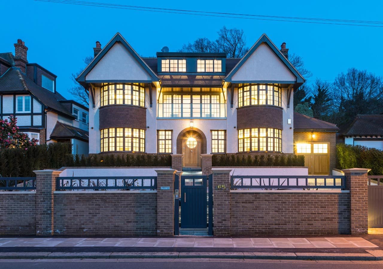 the-facade-of-a-large-house-in-wimbledon-home-staged-by-cullum-design-london-uk