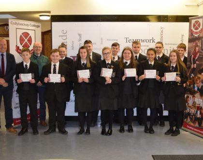 Senior Achievement Certificates