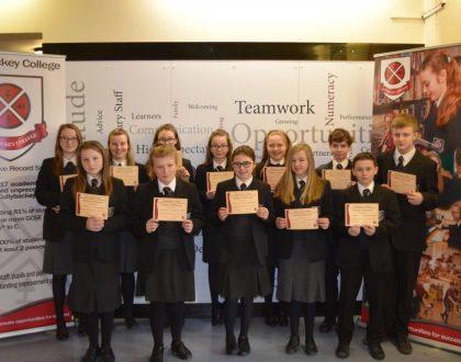 Junior Achievement Certificates
