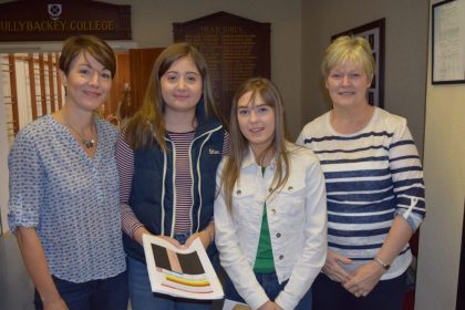 Cullybackey College students celebrate great success