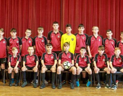 Treble league title for Year 10 boys