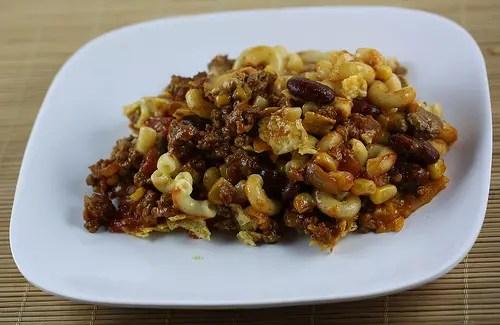 chili macaroni casserole recipe free delicious italian recipes