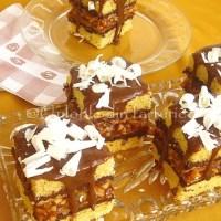 Prajitura cu caramel de migdale