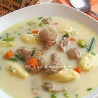 Supa de pipote cu galuste