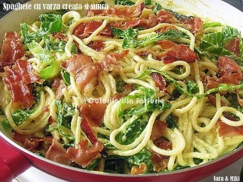 Spaghete-cu-varza-creata-si-sunca3-1