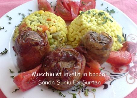 Muschiulet invelit in bacon - Sanda Suciu Ex Surtea