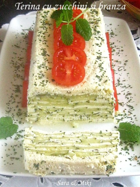 Terina cu zucchini si branza-2
