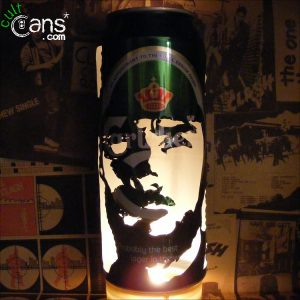 Clint Eastwood Beer Can Lantern