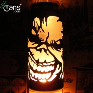 Iron Maiden 'Eddie' Beer Can Lantern