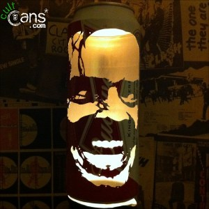 Jack Nicholson 'The Shining' Beer Can Lantern