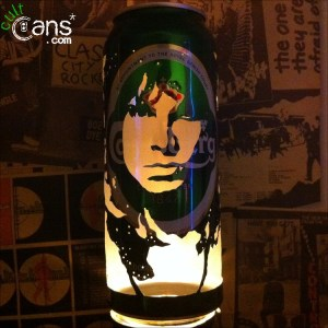 Jim Morrison Beer Can Lantern