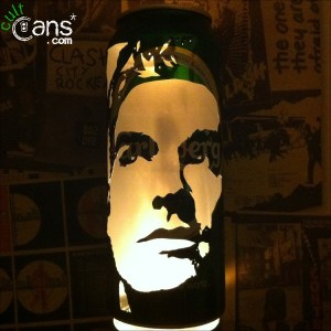 Morrissey Beer Can Lantern