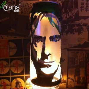 Paul Weller Beer Can Lantern