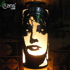Pete Doherty Beer Can Lantern
