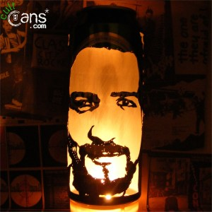 Frank Turner Beer Can Lantern