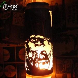 Freddy Krueger Beer Can Lantern