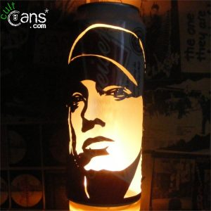 Eminem Beer Can Lantern