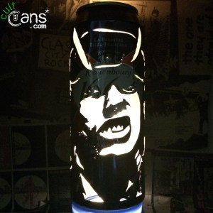 Angus Young AC/DC Beer Can Lantern