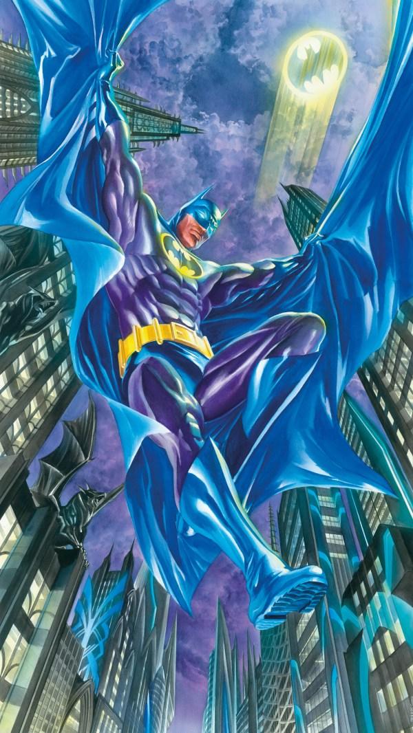 Superman Alex Ross Comic Art