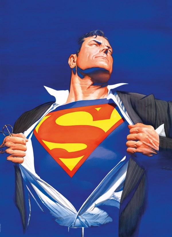 Alex Ross Superman Art