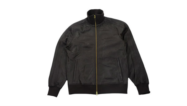 adidas Originals Leather Track Jacket: The Thin Red Line